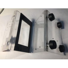 """Acrylic """"L"""" Case for Nextion 3.2',4.3'"""