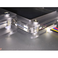"""Acrylic """"S"""" Case for Nextion 2.4',3.2',4.3'"""